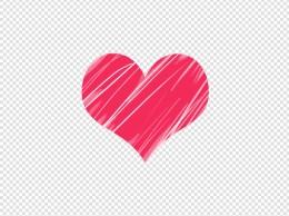 520情人节恋爱唯美手绘爱心