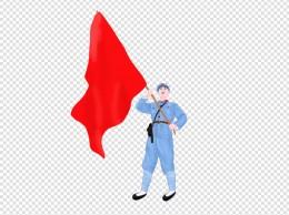 党建节建军节红军PNG