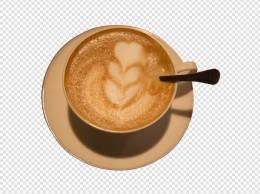 一杯咖啡奶茶下午茶