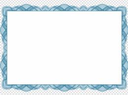 证书花边边框设计矢量图