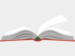 卡通书本矢量图下载