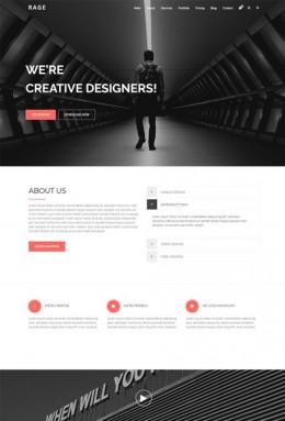 建筑设计企业官网模板