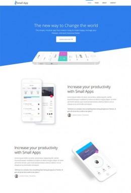 手机软件UI设计网站模板