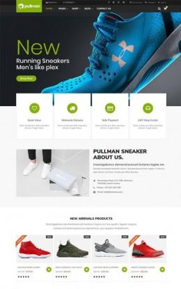 运动鞋在线商城HTML5模板