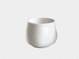 酒杯实物陶瓷小酒杯茶杯白色瓷杯